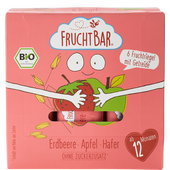 Bild: FruchtBar Bio-Riegel Erdbeere und Hafer