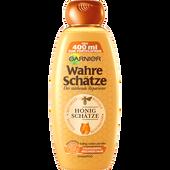 Bild: GARNIER Wahre Schätze Shampoo - Der stärkende Reparierer Honig Shampoo