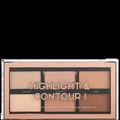 Bild: profusion cosmetics 6 Color Highlight & Contour Palette