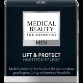 Bild: MEDICAL BEAUTY for Cosmetics MEN Lift & Protect Hightech-Pflege
