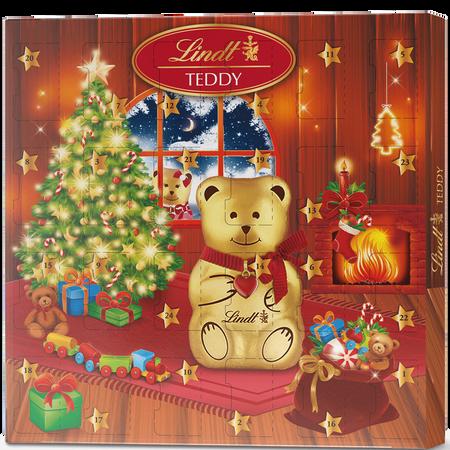 LINDT Adventkalender Teddy Jungen