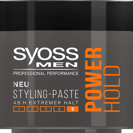 syoss PROFESSIONAL Men Power Hold Styling-Paste