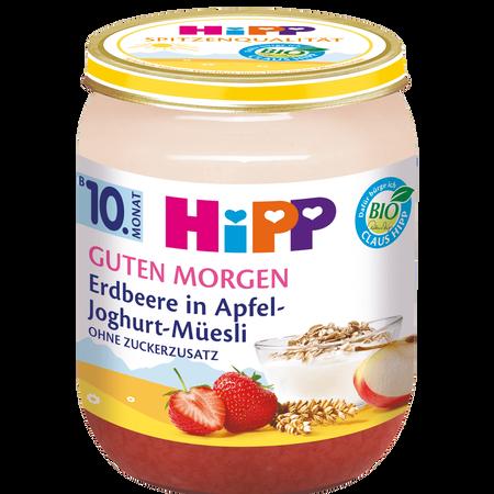HiPP Erdbeere in Apfel-Joghurt Müsli