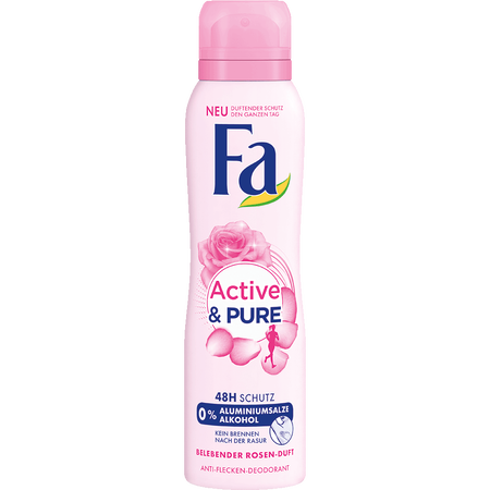 Fa  Active&Pure Belebender Duft Deospray