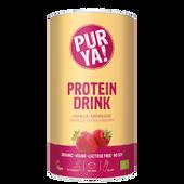 Bild: PURYA! Vegan Protein Drink Vanille-Erdbeere