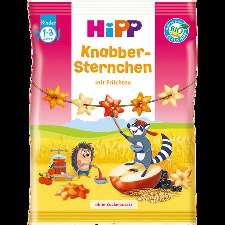 HiPP Knabber Sternchen mit Früchten
