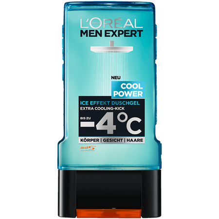 L'ORÉAL PARIS MEN EXPERT Cool Power Ice Effect Duschgel