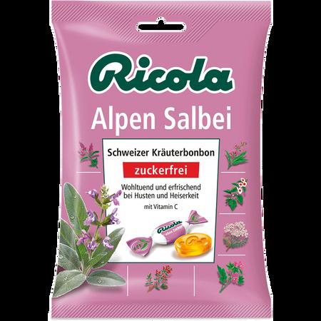 Ricola Alpen Salbei Schweizer-Kräuterbonbons