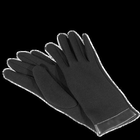LOOK BY BIPA Handschuh schwarz mit PU-Einsatz