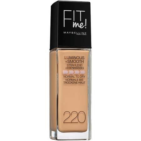 Bild: MAYBELLINE FIT me! Luminous+Smooth Liquid Make-up natural beige MAYBELLINE FIT me! Luminous+Smooth Liquid Make-up