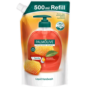 Bild: Palmolive Flüssigseife Hygiene Plus Family Nachfüllung