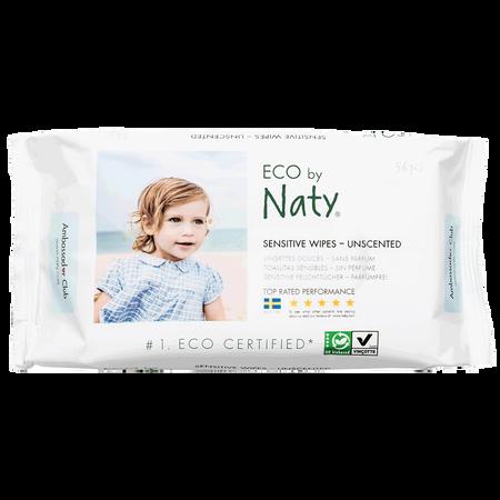 Eco by Naty Feuchttücher unparfümiert