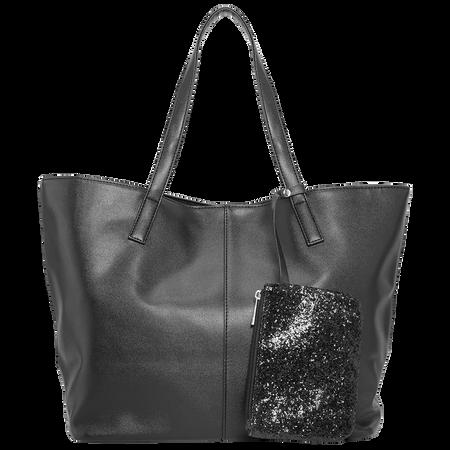 LOOK BY BIPA Shopper Zusatztasche Schwarz