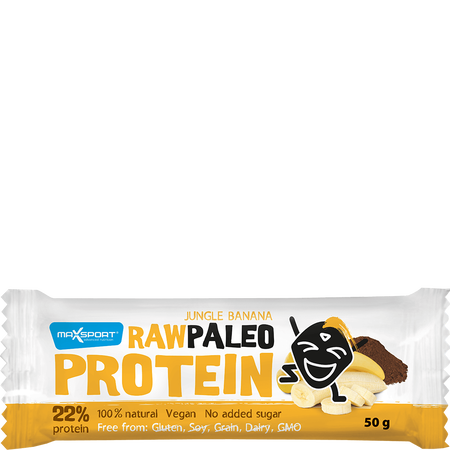 Max Sport Raw Paleo Protein Jungle Banana