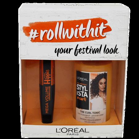 L'ORÉAL PARIS Coffret #rollwithit - your festival look
