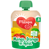 Bild: Milupa Quetschbeutel Mango, Orange in Apfel