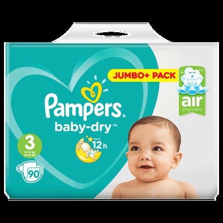 Pampers Baby-Dry Gr. 3 (6-10kg) Jumbo+ Pack