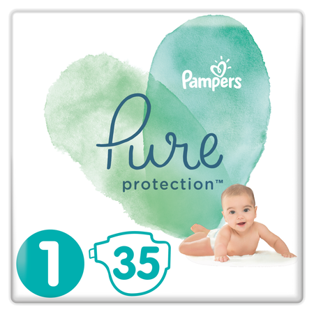 Pampers Pure Protection Gr. 1 Newborn 2-5 kg