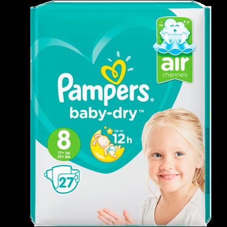 Pampers Baby-Dry Gr. 8 (17+kg) Value Pack