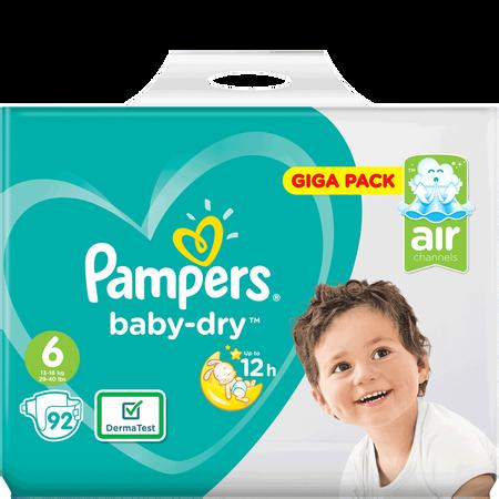 Pampers Baby-Dry Gr.6 (13-18kg) Giga Pack