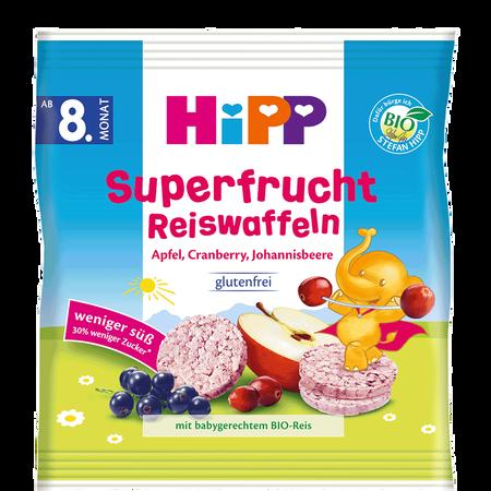 HiPP Superfrucht Reiswaffeln
