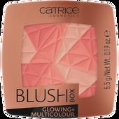 Bild: Catrice Blush Box Glowing + Multicolour dolce vita