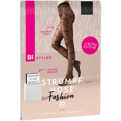 Bild: BI STYLED Fashion Strumpfhose Schriftzug 20 DEN