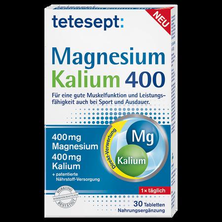 tetesept: Magnesium Kalium Tabletten 400