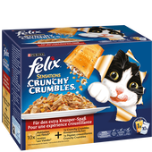 Bild: Felix Sensations Crunchy Crumbles Fleisch