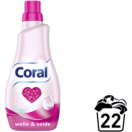 Coral Flüssigwaschmittel Wolle & Seide