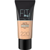 Bild: MAYBELLINE Fit Me! Matte+Poreless Make Up natural beige