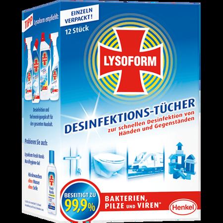 LYSOFORM Desinfektionstücher