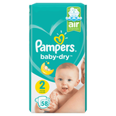 Bild: Pampers Baby-Dry Gr. 2 (4-8kg) Value Pack