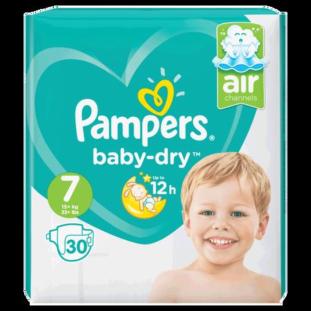 Pampers Baby-Dry Gr. 7 (15+ kg) Value Pack