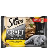 Bild: Sheba Craft Collection Geflügel Variation in Sauce