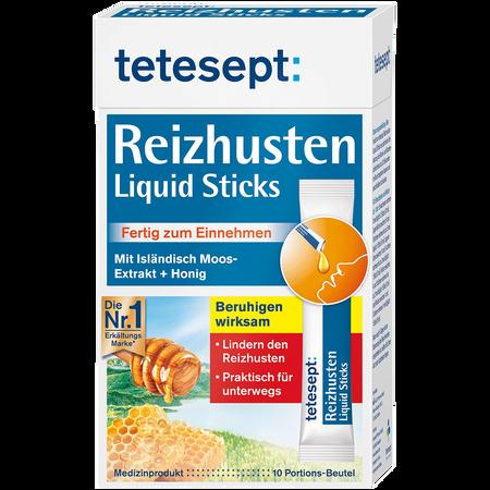 tetesept: Reizhusten Liquid Sticks