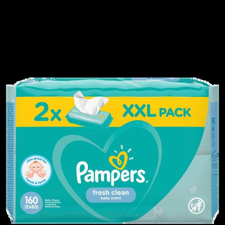 Pampers Feuchte Tücher Fresh Clean 2 Packungen