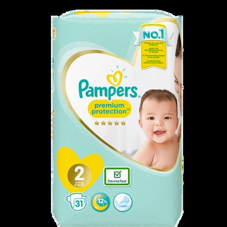 Pampers Premium Protection Newborn Gr. 2 (4-8kg)