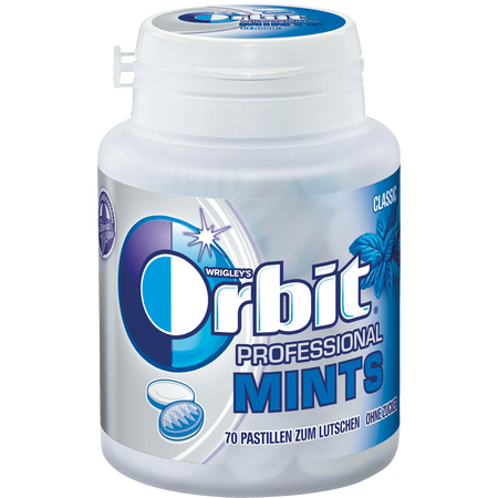 WRIGLEY'S Orbit Professional Mints Classic