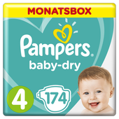 Bild: Pampers Baby Dry Gr.4 Maxi 9-14kg MonatsBox