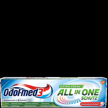 Odol-med3 Zahncreme All In One Schutz Extra Fresh
