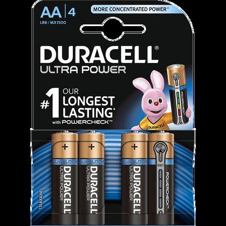 DURACELL Ultra Power Alkaline AA Batterien
