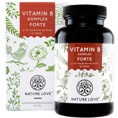 Bild: NATURE LOVE Vitamin B Komplex Kapseln