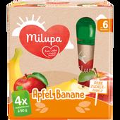 Bild: Milupa Apfel Banane Quetschbeutel