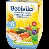 Bild: Bebivita Italienisches Gemüse mit Sternchennudeln und Hühnchen