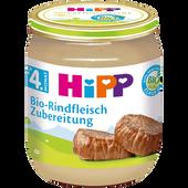 Bild: HiPP Bio-Rindfleisch Zubereitung