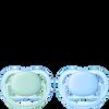 Bild: PHILIPS AVENT Schnuller Ultra Air, 0-6 Monate, türkis/blau