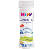 Bild: HiPP PRE Combiotik Anfangsmilch trinkfertig