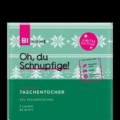 Bild: BI HOME Cozy Winter Taschentücher XXL Würfelbox