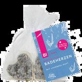 Bild: BI CARE Badeherzen mit Lavendel Duft